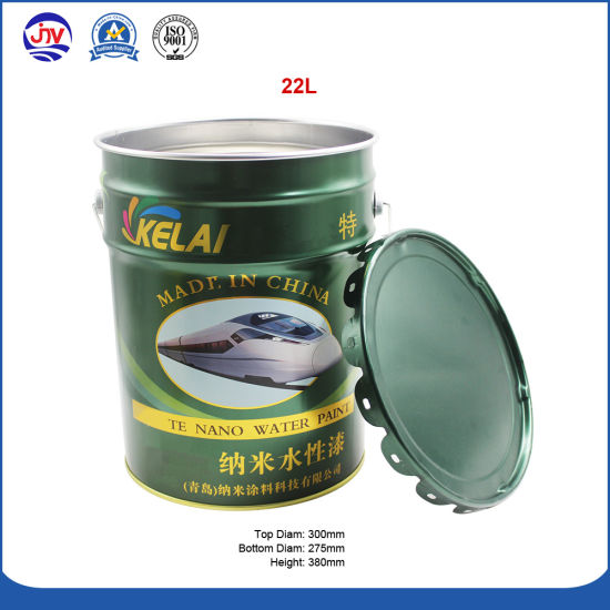 Big Metal Barrel Tin Packing For Water Based Painting