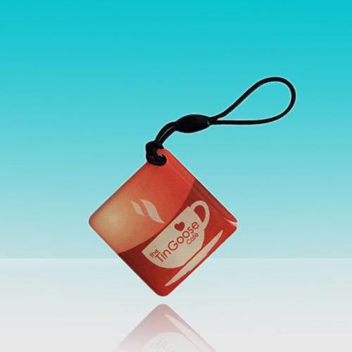 China RFID Tag Waterproof Made of PVC, Pet, ABS, PETG Key