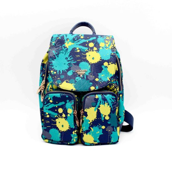 Stylish Printed Flora Bagpack for Women