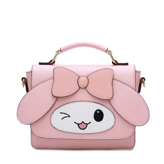 2019 Cute Face Bow Handbag Cartoon Girl Tote Bag pictures & photos