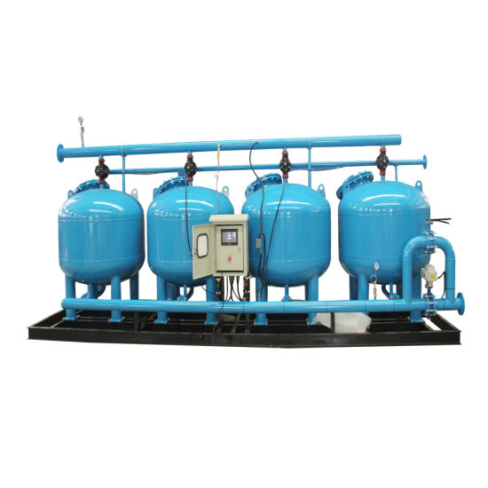 Agricultural Irrigation Automatic Backwash Sand Water Filter