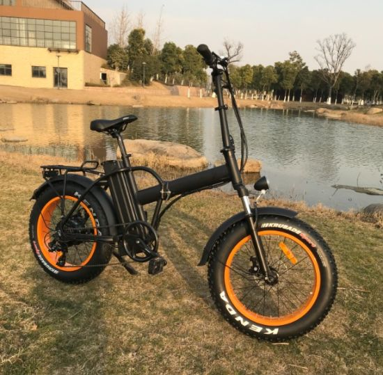 8d88ddb4ac0 2019 Best Electric Foldable Bike Mountain Fat E Bike pictures & photos