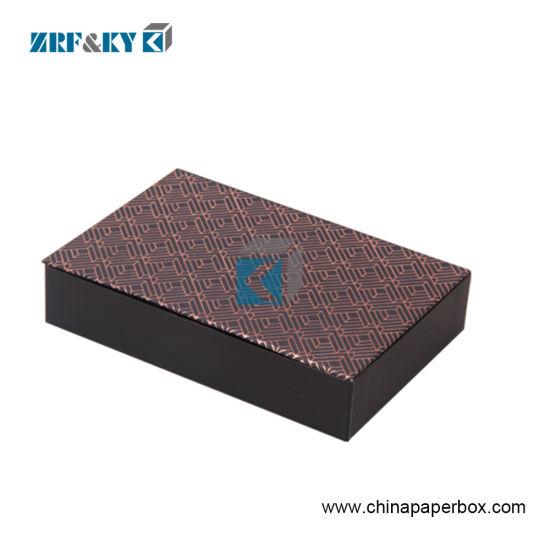 Printing Creative Custom Cardboard Fashion Brown Chocolate Packaging Box