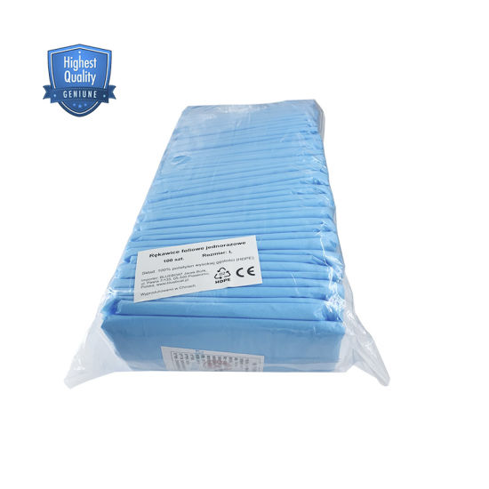 Disposable Isolation Gown in PE and PP Gown Non Sterile Non-Surgical PP PE Coated Non Woven Cloth Laminated Fabric Gown