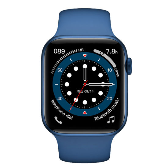 Watch Series 6 Support Body Temperature Measure Bluetooth Dialing for Apple Watch with 44mm Standard 1: 1 Infinite Large Screen
