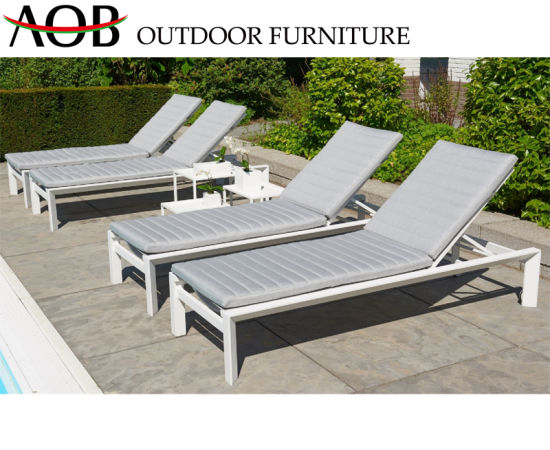 Modern Outdoor Garden Hotel Resort Home Furniture Beach Chair Daybed Sun Lounger Sunbed