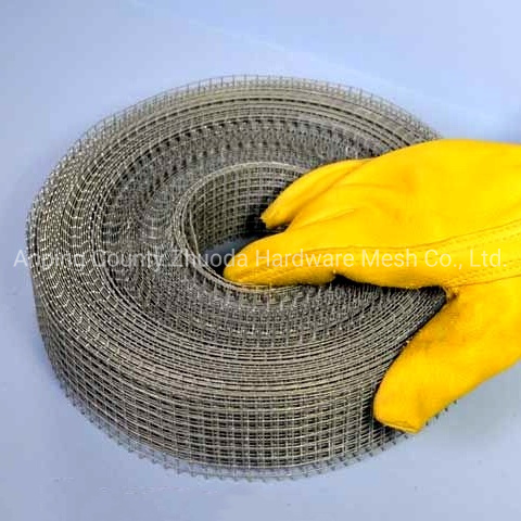 Amazon Ebay Mesh 2-8 Length 30m Galvanized Welded Gutter Guard Mesh (GGM) pictures & photos