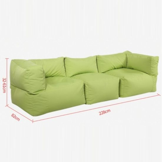 China Lazy Sofa Fabric Bean Bag Leisure