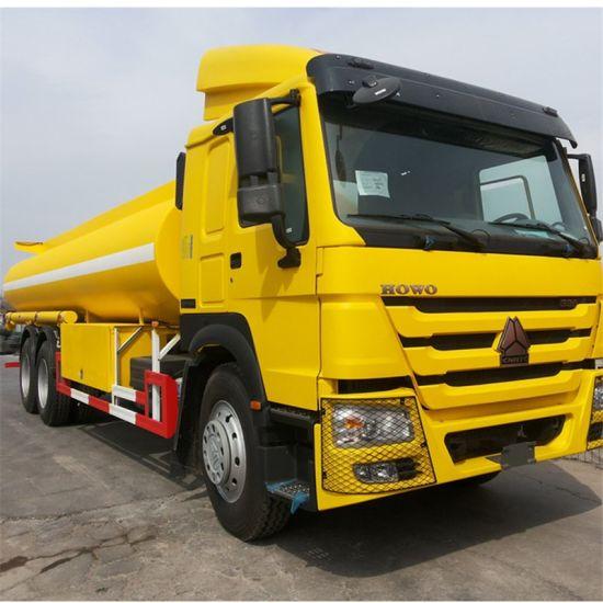 HOWO 6X4 336HP 18, 000L Fuel Tanker Truck Model Zz1257n4641W