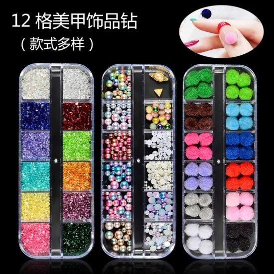 New Multi-Size Nail Rhinestones 3D Decorations Nail Art Decorations pictures & photos