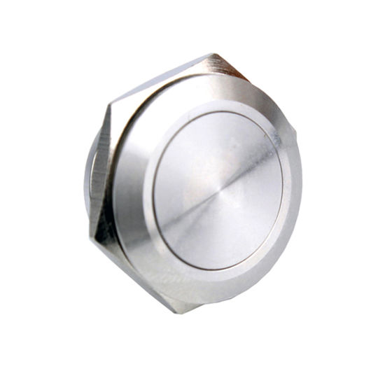 19mm Momentary 2pin Short Body Stainless Steel Push Switch (NO Latch type)