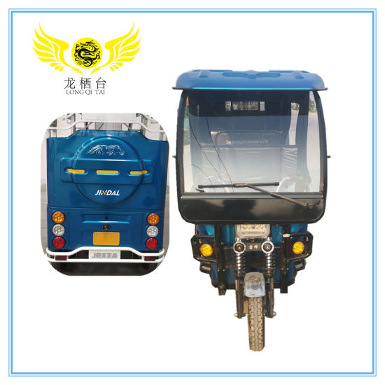 48V1000W Three Wheel Electric Passenger Auto Electric Tricycle / Eco-Friendly Taxi Electric Rickshaw