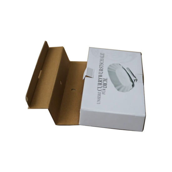 Cmyk Printed E Flute Corrugated Paper Color Box