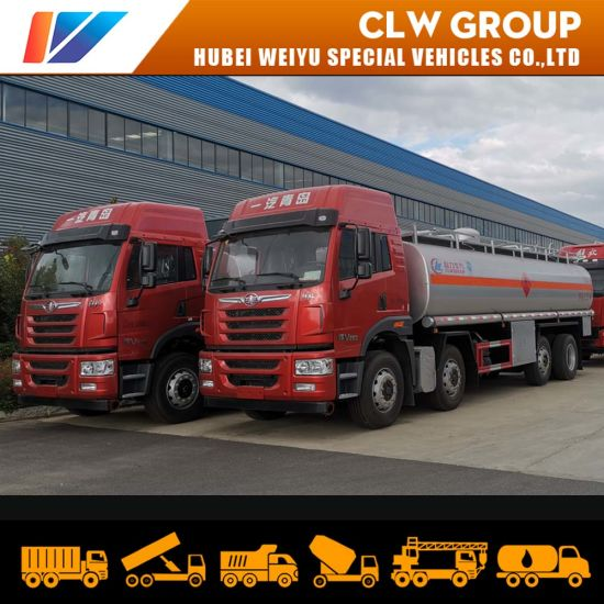 30m3 32m3 Fuel Bowser FAW Truck Heavy Duty Fuel Tanker with Free Accessories