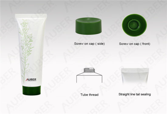 D35mm Green Leaf Plastic Packaging Toothpast Packaging