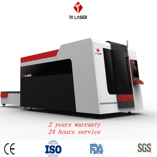 2019 China Factory 3000W CNC Laser Cutter Fiber/CO2 Laser Cutting or Engraving Machine for Sheet Metal Carbon Steel Stainless Steel Cutting