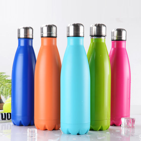 Stainless Steel Thermos Vacuum Insulated Sports Drinking Water Bottle