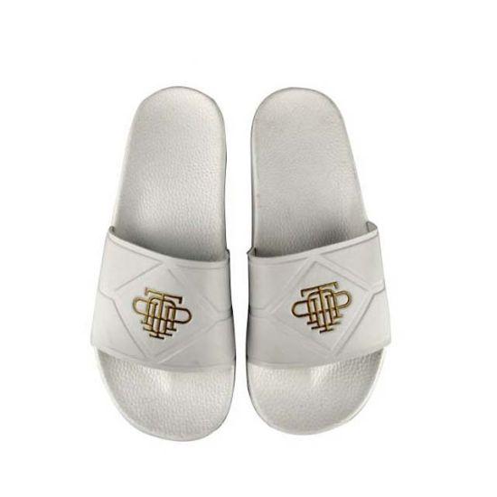 Custom Private Logo White Slide Sandal Women Slide Sandal
