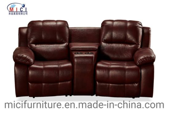 Home Theater Cinema Furniture Leather Recliner Sofa