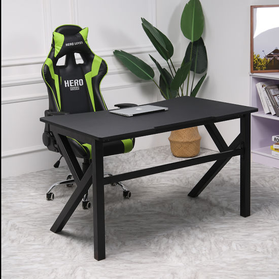 (HAMI) Modern Design Furniture High Quality Waterproof PVC PC Desk Gaming  Computer Table