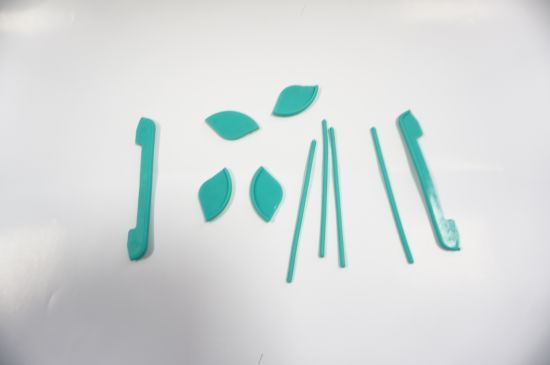 Customized High Precision Green Plastic Injection Parts