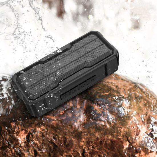 Waterproof Wireless Portable Stereo Deep Bass MP3 Speaker TF Card 3W*2 Bluetooth Mini Speaker