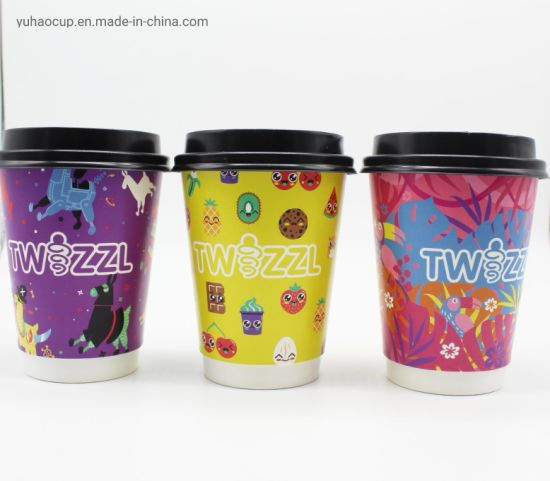 Compostable PLA Paper Cups 100% Biodegradable Eco-Friendly Paper Cups pictures & photos