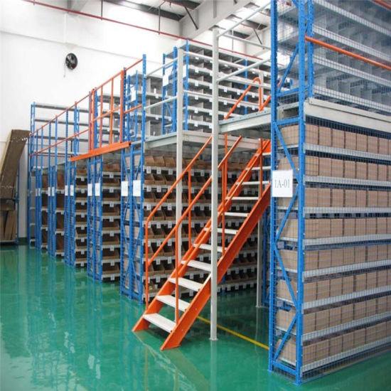 Steel Mezzanine Metal Warehouse Storage Systems Shelf Storage