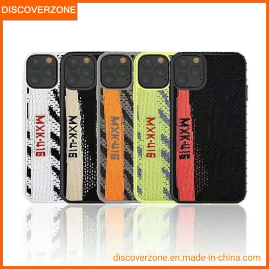 2019 New Fashion Coconut Phone Case Protective Fabric Zebra Case Back Cover for iPhone Xs 11 PRO Max Case
