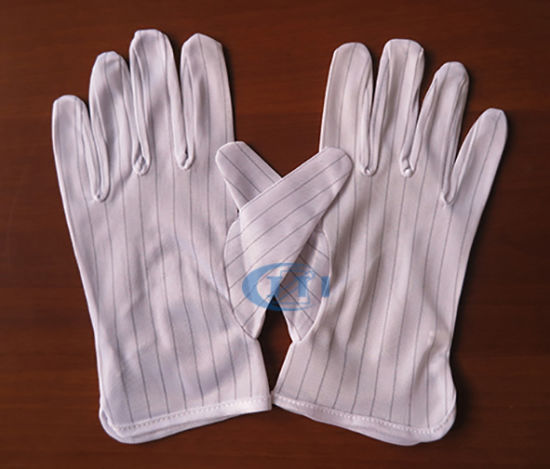 Antistatic Gloves 1.0 Strip Clean Room for Working