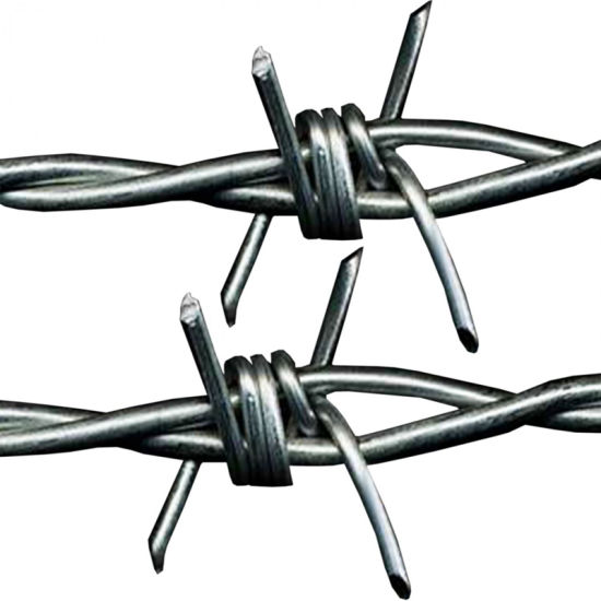 Amazon & Ebay's Choice Razor Barbed Wire Galvanized Barbed Wire for Fencing (BW)