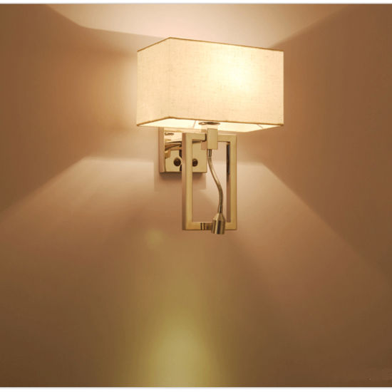 China So Practical Modern Chrome Bedside 3W LED Wall Sconces Lamp ...
