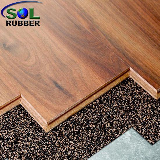 China Cork Flooring Sound Absorption