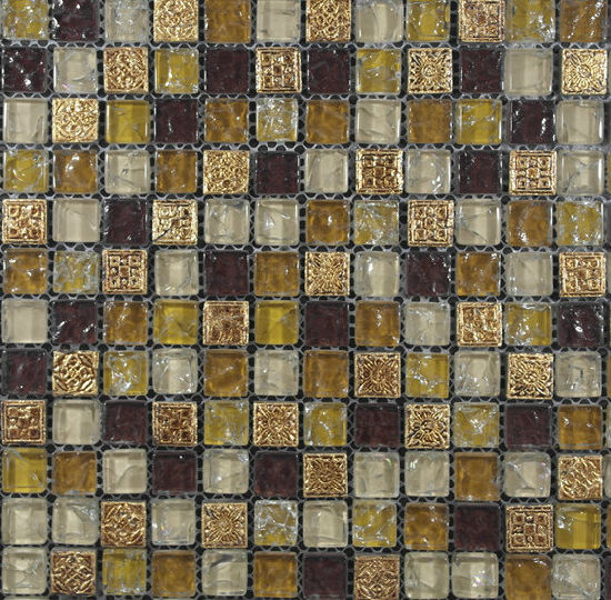 Crystal Glass Mosaic for Wall