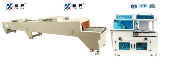 Shrink Package Machine Heat Tunnel Shrink Wrapping Machine, POF Packaging Machine