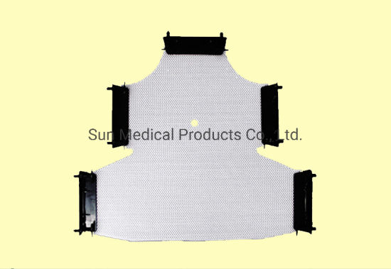 Civco Type 5-Point Head-Neck-Shoulder Mask with Push Pin - Radiotherapy Mask