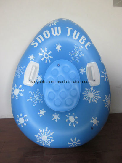 Inflatable Snow Tube with Inflatable Bottom pictures & photos