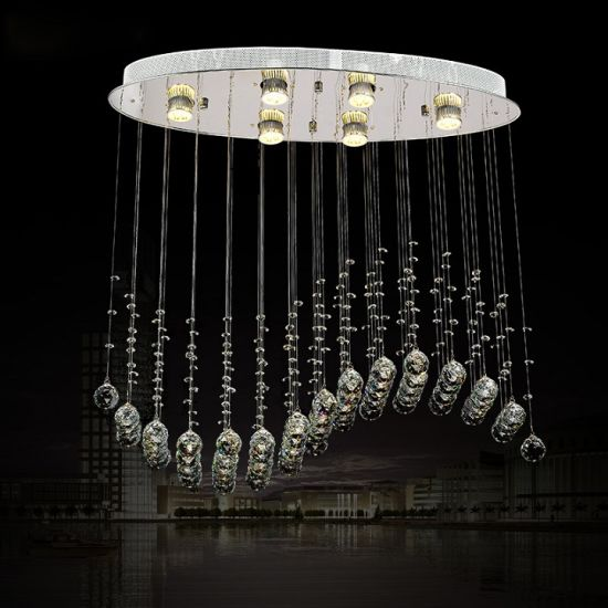 China whole sale modern led crystal dining pendant lamp chandeliers whole sale modern led crystal dining pendant lamp chandeliers for restaurant 7007 6 aloadofball Choice Image