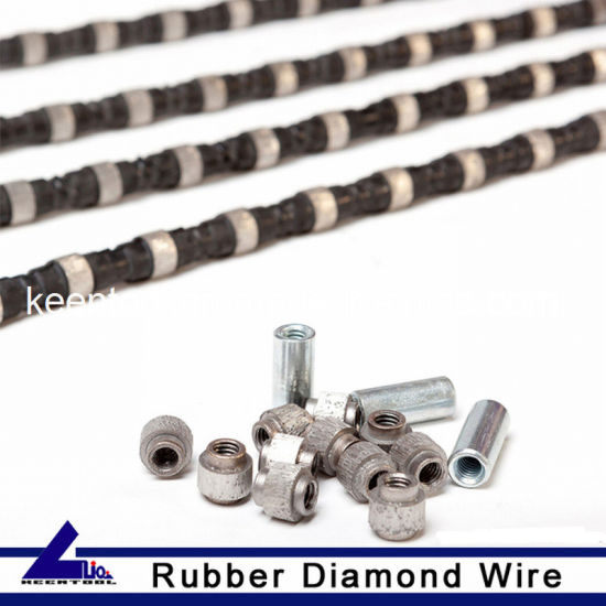 High Quality Diamond Wire for Sandstone Cutting pictures & photos