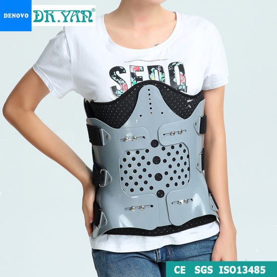Ce ISO Hyperextension Back Brace Orthosis for Fracture Rehabilitation