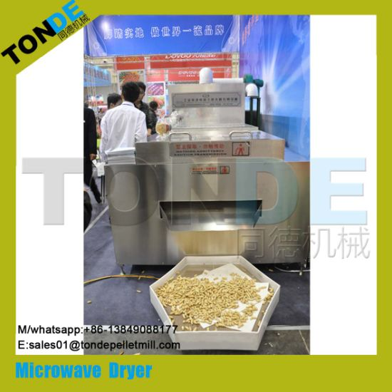 Industrial Stainless Steel Microwave Power Food Dryer Sterilizer pictures & photos
