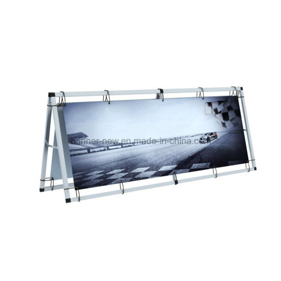 Outside Foldable Aluminum Display Banner Stand Ad Board Stand (SS-AS-02) pictures & photos
