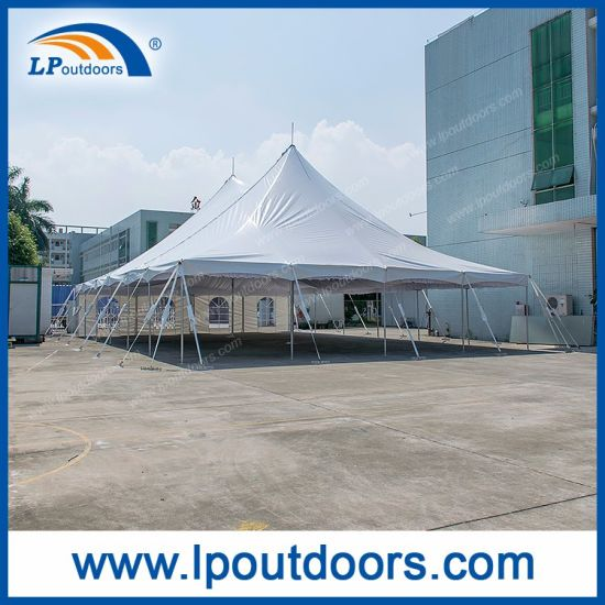 Liping Outdoors Manufactory Ltd. & 40X60u2032 Outdoor Wedding Marquee Steel Pole Tent for Sale