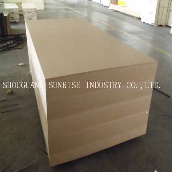 High Quality Competitive Price Plain MDF Wood Board/Sheet pictures & photos