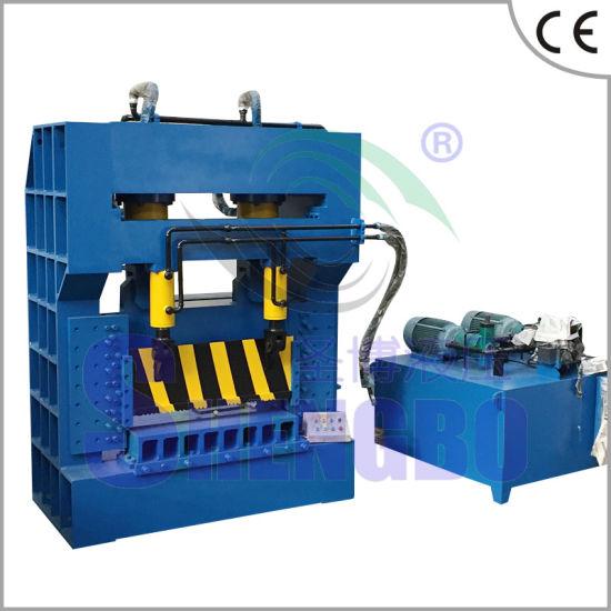 Automatic Scrap Metal Cutting Machine with Feeding Conveyor