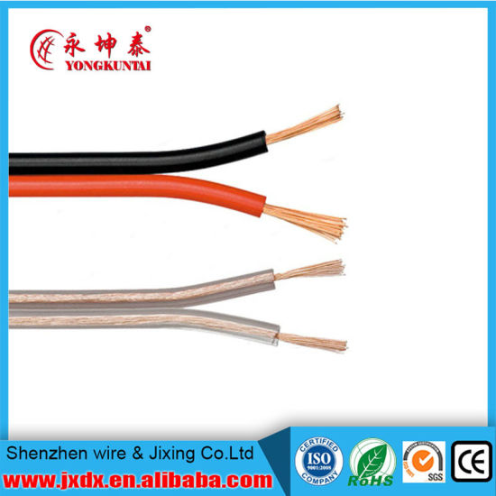 China 2 Core Solid Copper Conductor Flat Cable - China Flat Cable ...