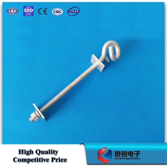 High Quality HDG Forged Carbon Steel Eye Bolt