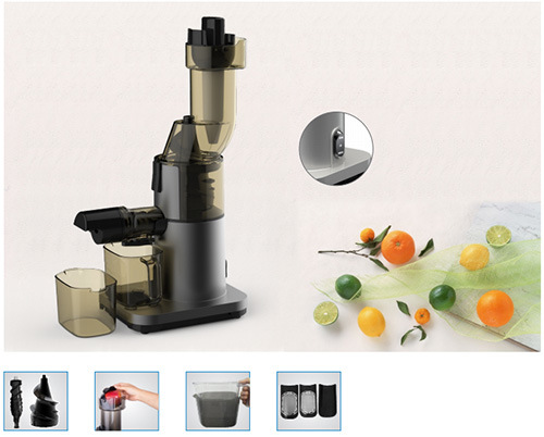 Whole Slow Juicer with Big Mouth Feeding Chute