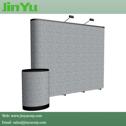 Hook and Loop Fabric Display Trade Show Pop up Banner pictures & photos
