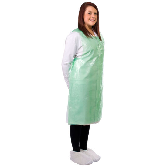 Disposable Plastic Cleaning Food Grade PE Apron